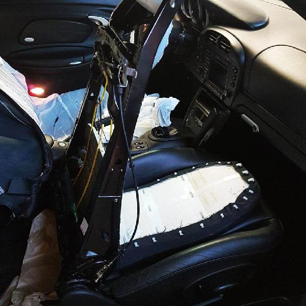 Démontage coque de siège